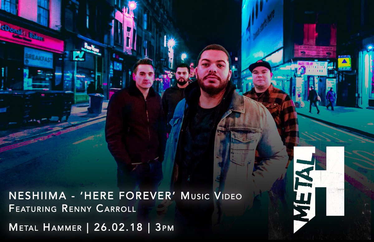 Metal Hammer – Music Video Exclusive, Today at 3pm!