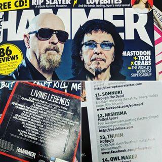 Brand new track on Metal Hammer CD!